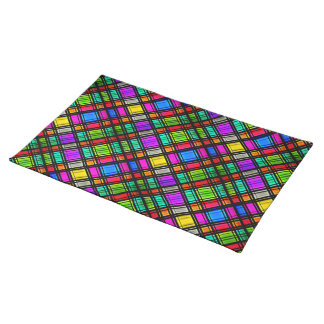 Stained Glass (Diagonal) Place Mats