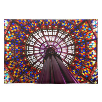 Stained Glass Dome Place Mats