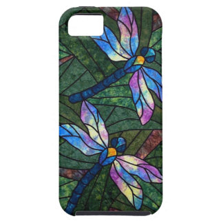 Stained Glass Dragonflies iPhone 5 Covers