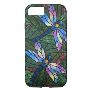 Stained Glass Dragonflies iPhone 8/7 Case