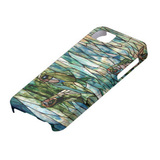 Stained Glass Fish-Tiffany-Barely There iPhone 5/5 iPhone 5 Cases