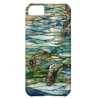 Stained Glass Fish-Tiffany-Barely There iPhone 5C iPhone 5C Case