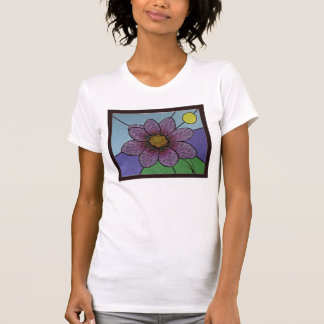 Stained Glass Flower T-shirt