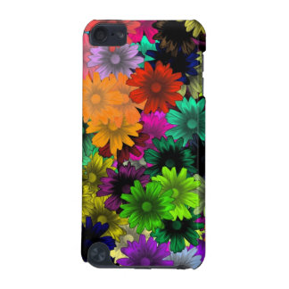 Stained glass flowers iPod touch (5th generation) case