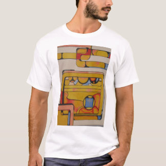 """Stained Glass for Duchamp"" T-Shirt"