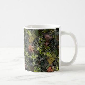 Stained Glass Grapes Mug