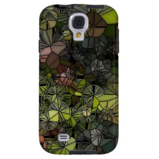 Stained Glass Grapes Samsung Galaxy S4 Vibe Case