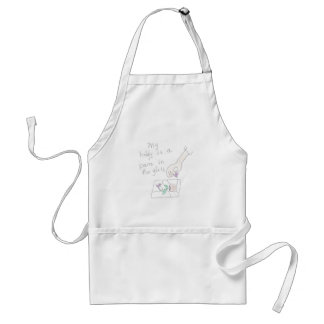 Stained Glass Hobbyist Apron
