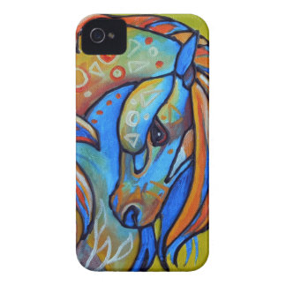Stained Glass Horse 1 Case-Mate Blackberry Bold iPhone 4 Case