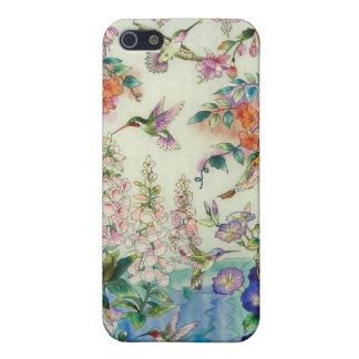 STAINED GLASS HUMMINGBIRD iPHONE 4 Speck Case Case For iPhone 5/5S