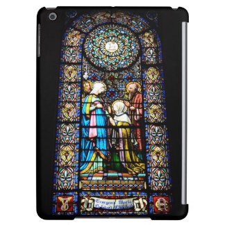stained glass in montserrat cover for iPad air