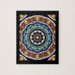 Stained Glass Kaleidoscope #2 Jigsaw Puzzle