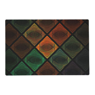 Stained Glass Laminated Placemat