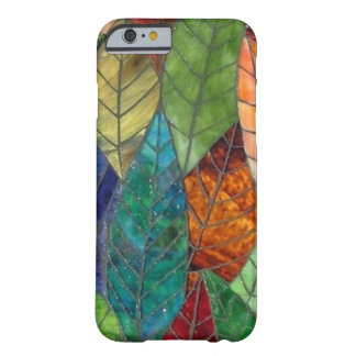 Stained Glass Leaves iPhone 6 case