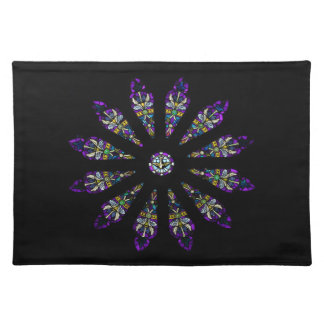 Stained Glass Mandala Placemat