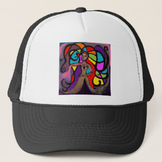 Stained Glass Mandy. Trucker Hat