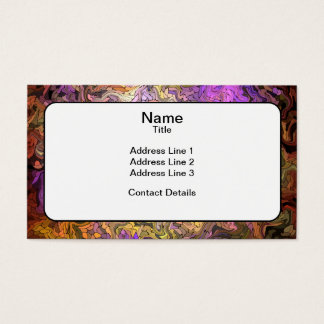 Stained Glass Mosaic Business Card