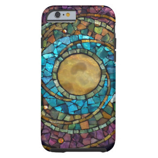 "Stained Glass Mosaic ""Celestial"" iPhone 6 Case"