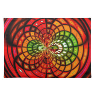 Stained Glass Mosaic Place Mats