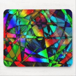 STAINED GLASS MOUSE MAT