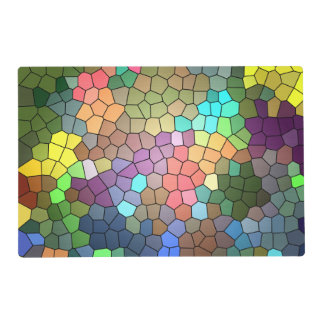 Stained Glass Laminated Place Mat