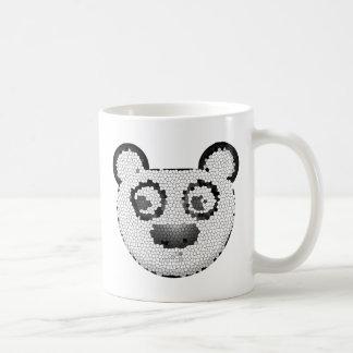 Stained glass panda mug