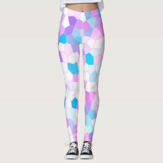 Stained Glass Pastel Leggings