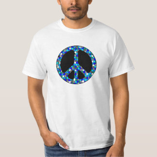 Stained Glass Peace Tee Shirt