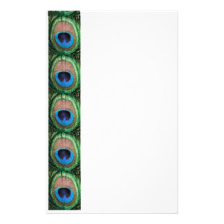 Stained Glass Peacock Customised Stationery