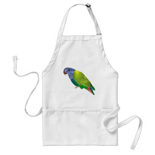 Stained Glass Pionus Parrot Apron