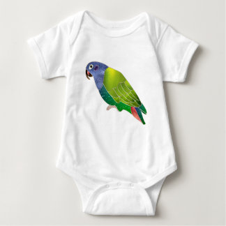 Stained Glass Pionus Parrot Baby Bodysuit