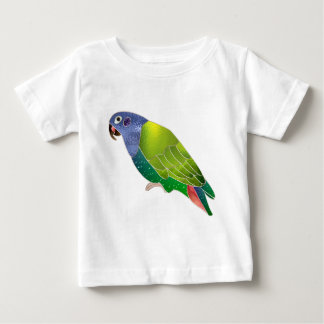 Stained Glass Pionus Parrot Baby T-Shirt