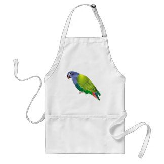 Stained Glass Pionus Parrot Standard Apron