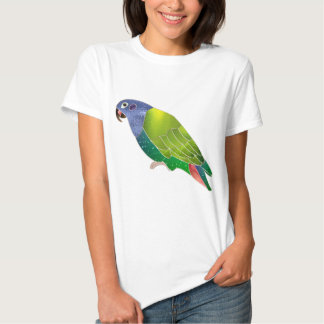 Stained Glass Pionus Parrot T Shirt