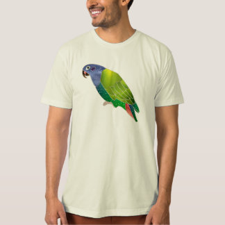 Stained Glass Pionus Parrot Tee Shirts