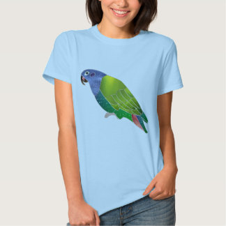Stained Glass Pionus Parrot Tshirts
