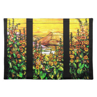 Stained Glass Place Mat Cloth Place Mat