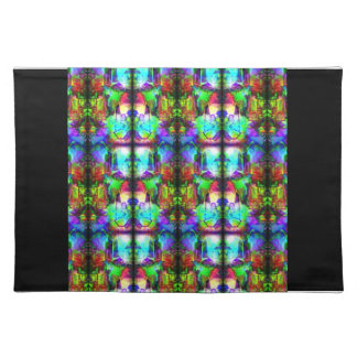 Stained-Glass Place Mat
