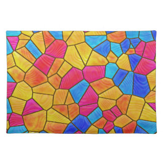 Stained Glass Cloth Placemat