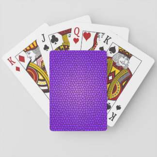 Stained Glass Print Playing Cards