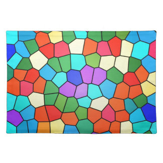 Stained Glass Rainbow 2183 Place Mats