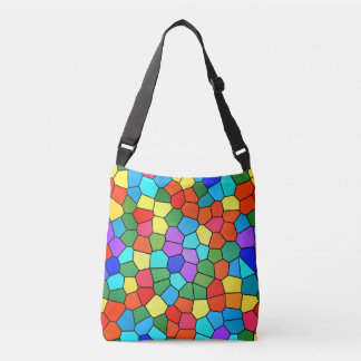Stained Glass Rainbow 2183 tote bag