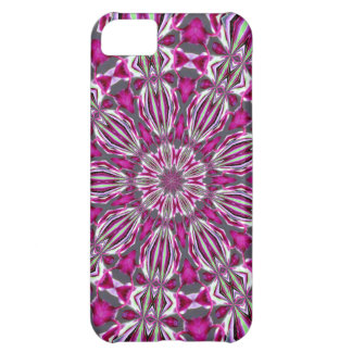 Stained Glass Redbud Medallion iPhone 5C Cases