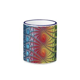 Stained Glass Ringer Mug