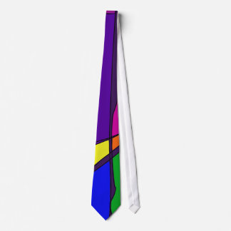 Stained Glass Simulation Tie