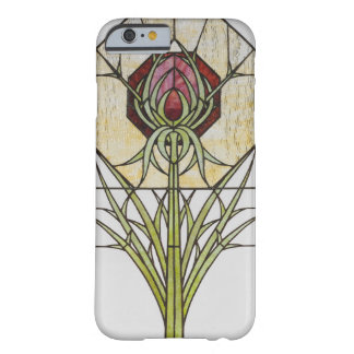 Stained Glass Stylized Thistle Geometric Shapes Barely There iPhone 6 Case