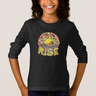 Stained Glass Sun Rise ~ Uplifting Message Graphic T-Shirt