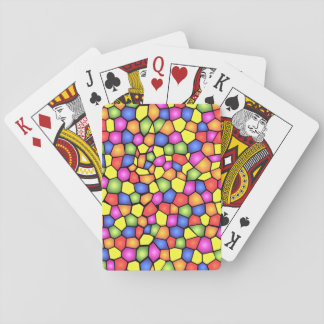 Stained Glass Texture Playing Cards! Poker Deck