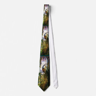 Stained Glass Tiffany Peacock Tie