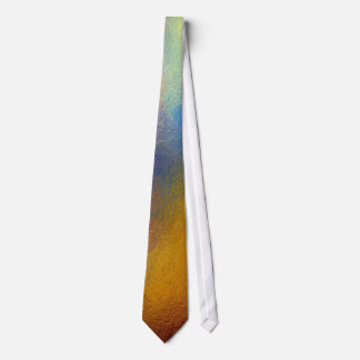 Stained glass, transparent colorful shiny window tie